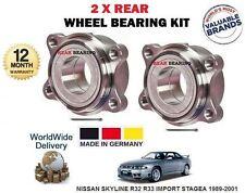 FOR SKYLINE R32 R33 40037-01E00 43210-35F01 40268-01E00 2 X REAR WHEEL BEARINGS