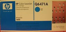 HP Q6471A (502A) Cyan Genuine Toner Cartridge NEW SEALED Factory Box