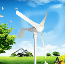 12V Garden Wind 400W Wind Turbine Generator 3 leaves Energy