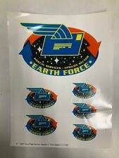 Babylon 5 Postal Services Epsilon Sector Earth Force Prototype Glossy Logo Sheet
