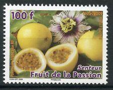 STAMP / TIMBRE POLYNESIE N° 878 ** FLORE / FRUITS DE LA PASSION TIMBRE PARFUME