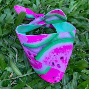 Watermelon Bliss Dog Bandana - Hand Made in Australia