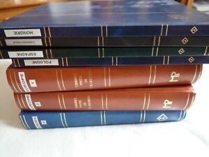 lot collection timbres Europe et pays de l'est en albums O et N, blocs