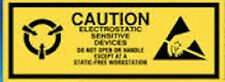 ESD 2x5/8 CAUTION Electrostatic Sensitive Devices Static Warning 500 Labels