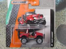 Matchbox 2015 # 089/120 CLIFF Percha Rojo MBX EXPLORADORES FUNDA CAJA