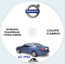 VOLVO C70,1a gen.(P80) Technical Manual and Wiring Diagram,1996/2005