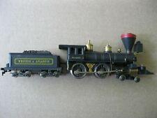 Vintage Pocher HO Western Atlantic Italy Genoa Steam Locomotive & Wood Tender