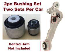 2pc Bushing Kit fits Front Lower Control Arm 2009 - 2015 Jaguar XF XFR  XFR-S