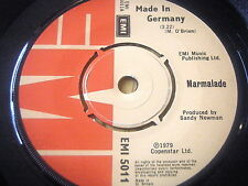 "MARMALADE - MADE IN GERMANY    7"" VINYL"