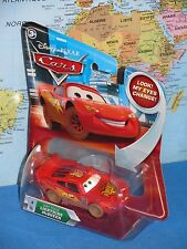 DISNEY PIXAR CARS DIRT TRACK LIGHTNING McQUEEN #3 LOOK MY EYES CHANGE BRAND NEW