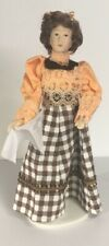 Dame Caroline Doll With Stand Included, Dolls House Miniature 1/12th Scale
