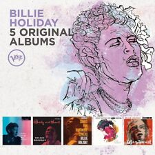 BILLIE HOLIDAY - 5 ORIGINAL ALBUMS 5 CD NEU (BODY AND SOUL/STAY WITH ME)