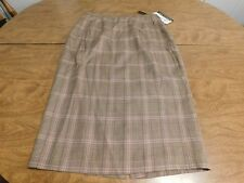 The Look Randolph Duke Womens' Skirt, Sz 8, Silk/Cotton Blend, New w/Tags