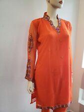 Readymade Churidar Bollywood Indian Pakistani stone Embroidery Salwar Kameez 44