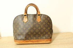 Authentic Louis Vuitton Monogram Alma hand Bag  #7605