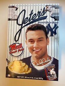 DEREK JETER NY Yankees - 2000  Frosted Flakes Cereal UNOPENED FULL BOX!