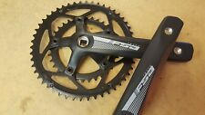 FSA Tempo Chainset COMPACT (50+34t) Road Bike Crankset (Square) 165mm (NEW)