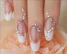 Decorazioni senza marca Argento Strass per unghie