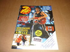 *7 EXTRA 91/37 (11/09/91) JOHNNY HALLYDAY AXELLE RED JEAN-CLAUDE VAN DAMME