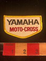 "NOS Dirt Bike YAMAHA MOTO-CROSS Biker Motorcycle Patch 3.25+"" X 2"" 00SG"
