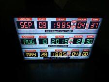 Back to the future Delorean Time circuit temporel  retour vers le futur à piles