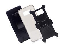 Samsung Galaxy S8 Shockproof Robot Case: 3-in-1 Case, Jacket Kickstand, Clip-On