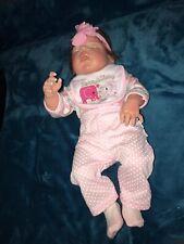 Reborn Reallife Baby Rebornbaby Mädchen Puppe 57 cm