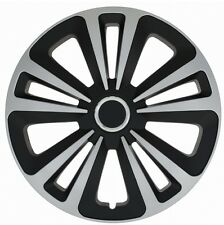 """SET OF 4 16"""" WHEEL TRIMS,RIMS TO FIT FORD FIESTA, FOCUS, FUSION + FREE GIFT #G"""