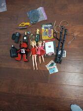 New ListingVtg Junk Drawer Box Lot Fobs, gucci, Many Other Misc Item barbie cloth ,dolls