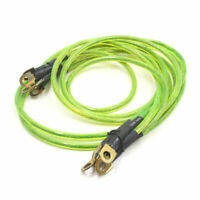 5-Point Battery Grounding Earth Cable Wire System Kit Green for Car Vehicle