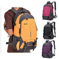 25 45L Waterproof Womens Mens Outdoor Sports Travel Backpack Bag Daily Schoolbag