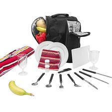 """Picknick Rucksack """"Diabolo"""" inklusive Vollausstattung Kühltasche für 2 Personen"""