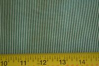 By 1/2 Yd, Green & White Quilting, Japan, Moda/Le Petit Poulet/21502 14, M8551