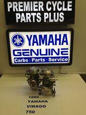 1995 YAMAHA VIRAGO XV 750 SET OF MIKUNI CARBS CARBURETORS