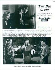 1946 The Big Sleep Printed 1991 Humphrey Bogart Original Press Photo