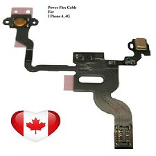 Replacement Power Switch Proximity Light Sensor Flex Cable for iPhone 4, 4G