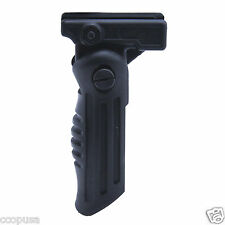 CCOP Black Foldable Tactical Foregrip for Rifle Picatinny Rail Mount FGRP-004