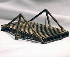 30' KING POST TRUSS BRIDGE HO Model Railroad Structure Wood Kit HL105H