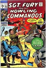 SGT FURY 86 VF SERGEANT & HIS HOWLING COMMANDOS 1963 MARVEL NICK AGENT OF SHIELD