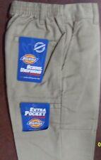Dickies Boys Double Knee Extra Pocket Khaki Pant Style 85362 Size 4 Reg.