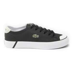 LACOSTE WOMENS GRIP SHOT Court Sneakers BLACK