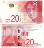 A++ ISRAEL NIS-BANKNOTE-PAPER-MONEY -UNC- Sheqel 20 shekel