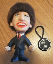 Vintage Beatles 1964 Ringo Starr NEMS Doll Figure with Drums Unusual Red Shirt!!