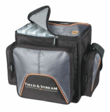 Field & Stream Soft Sided Fishing Carry Bag w/ 4-360 Tackle Lures Organizers Box