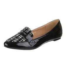 Damen Slippers Loafers Stylische Freizeit Schuhe Slip Ons 896011 Trendy