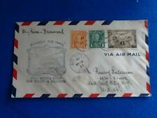 CANADA FIRST FLIGHT COVER:  1933 BIG RIVER SASK.