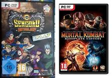 Sengoku Anthology & Mortal Kombat Komplete Edition new&sealed