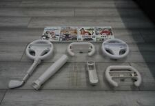 Nintendo Wii accessories bundle and games