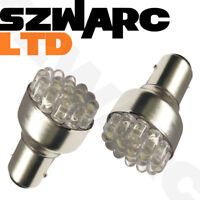 2 X Ultra Bright 19 Led Red Rear Fog Light Bulbs 382 P21w 1156 Ba15s 12v