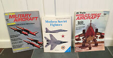 Lot Vintage Aircraft Magazines Book Modern Soviet Fighters Air Trails 1970s Set
